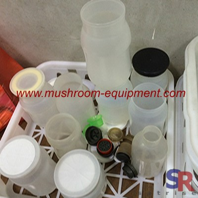 Energy efficient mushroom substrate bottles