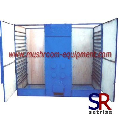 High capacity mushroom dryer machine