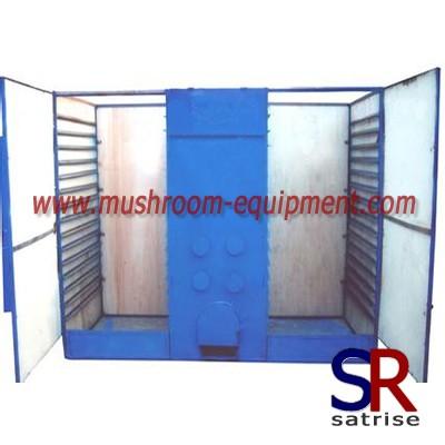 High capacity mushroom dryer machine