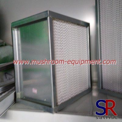 Professional glassfiber air filter material