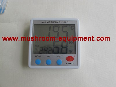 digital hygrometer thermometer formushroom growing