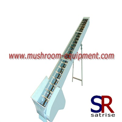 mushroom belt conveying machine transportation