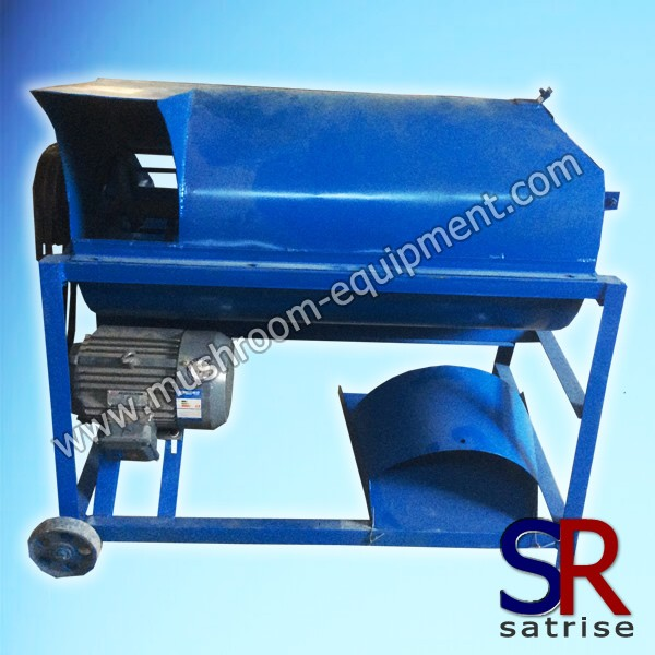 mushroom material screening machine
