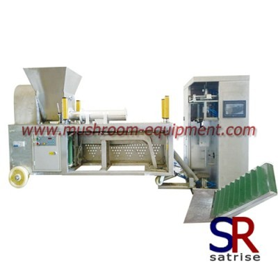 shiitake mushroom bagging and tying machine