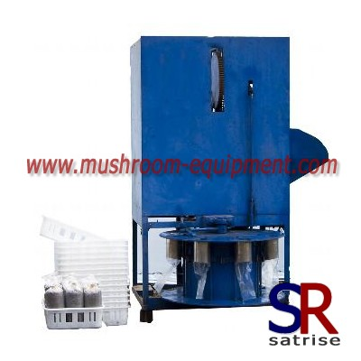 Mushroom Cultivation Compost Bag Filling Machine