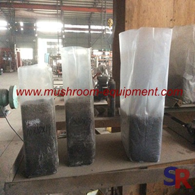 Mushroom Farming Breathable clear plastic bag