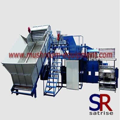 Button mushroom compost bag packing machine
