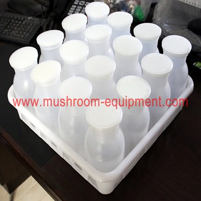 Best seller good mushroom cultivating bottles