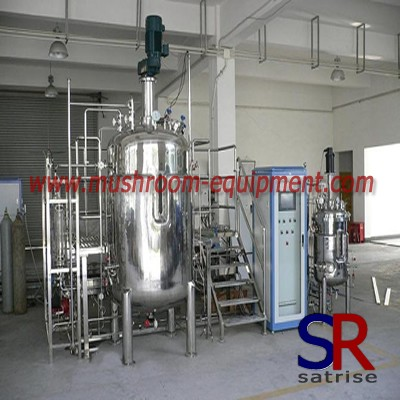 Fermentation Tank For mushroom System Industry