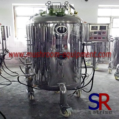 Mushroom Growing industrial fermentation tank