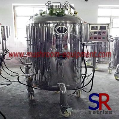 Mushroom Growing industrial fermentation tank