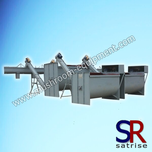 horizontal mixer equipment
