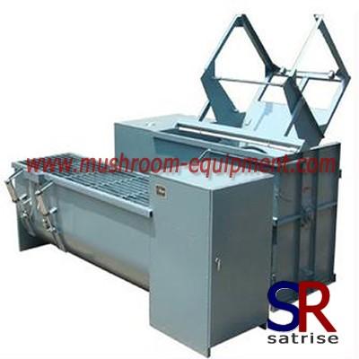 mushroom raw material mixing machine