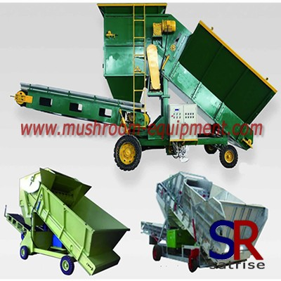 button mushroom bunker filling machine