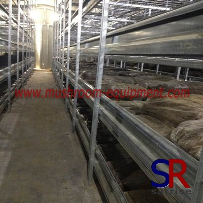 mushroom equipment shelves pipe material rack