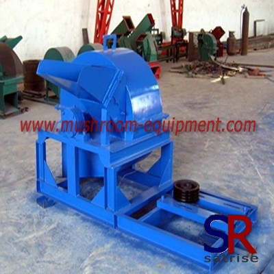 New and more efficient mushroom wood crusher