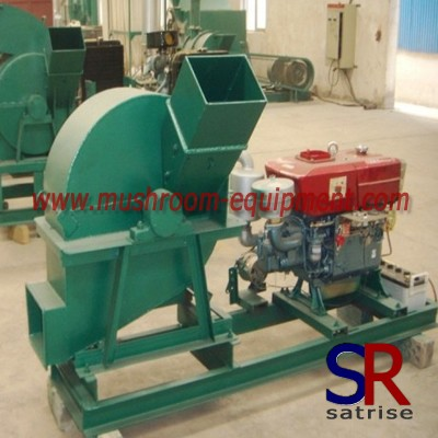 rice crop cutting machine/wheat wood crusher made