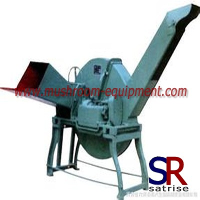 straw shredding machine for oyster mushroom