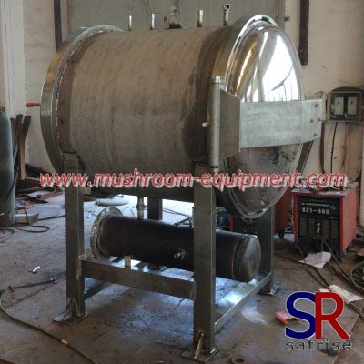 buy mushroom autoclave steam steriliser machine