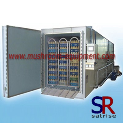 Industrial Steam Mushroom Sterilizer Machine