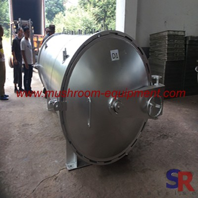 Stainless steel mushroom sterilizer pot