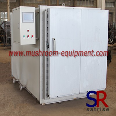 mushroom autoclave steam steriliser equipment