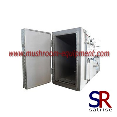 mushroom autoclave steam steriliser machinery