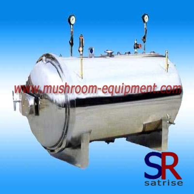 mushroom autoclave steam sterilization facility