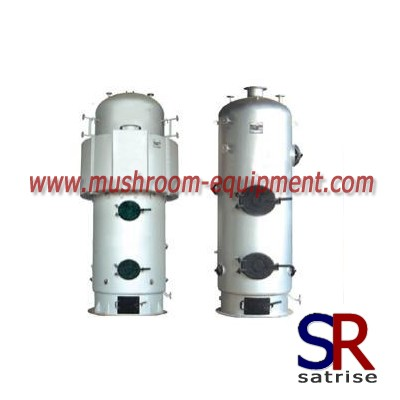 New technology steam boiler mushrooms