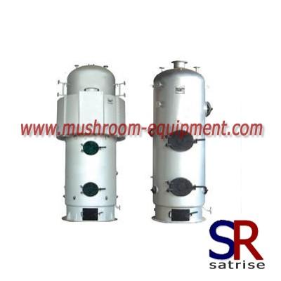 New technology steam boiler mushrooms