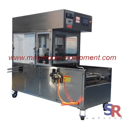 White fungus mushroom inoculation machine